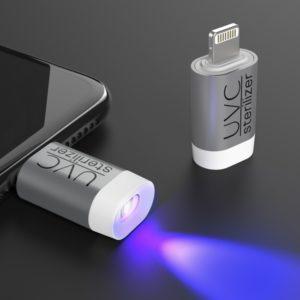 UV-Cスマートステリライザー/iPhoneに取り付け紫外線ライトで99.9%除菌