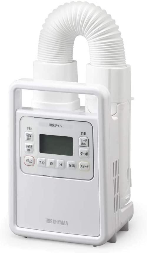 アイリスオーヤマふとん乾燥機FK-H1で暖か安眠。どの機種を選べばいい?何が違う?