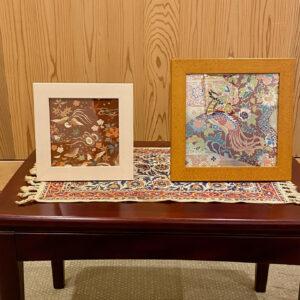 西陣織原画のアートフレームは、和風のインテリアとして部屋に飾っておきたいアイテムです。